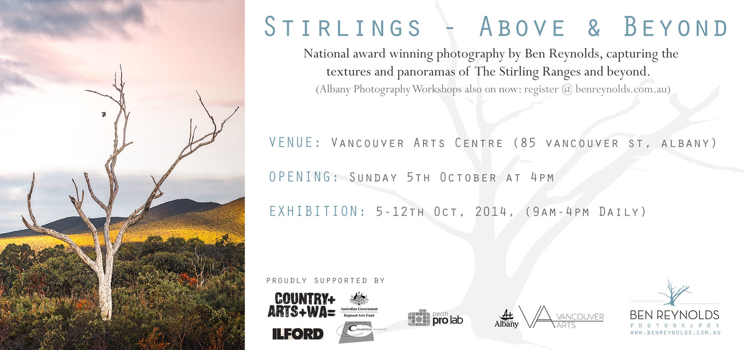 Exhibition – Stirlings Above & Below by Ben Reynolds