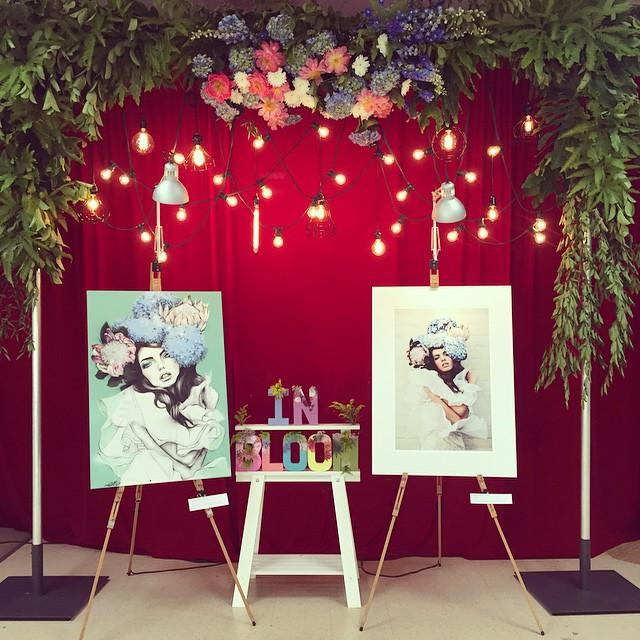 InBloom Exhibition by Caitlin Worthington & Pippa McManus