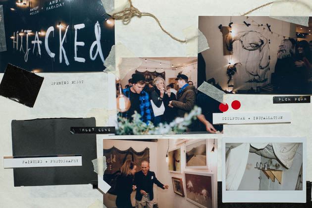 HiJacked Exhibition by Hayley Welsh & Andy Faraday