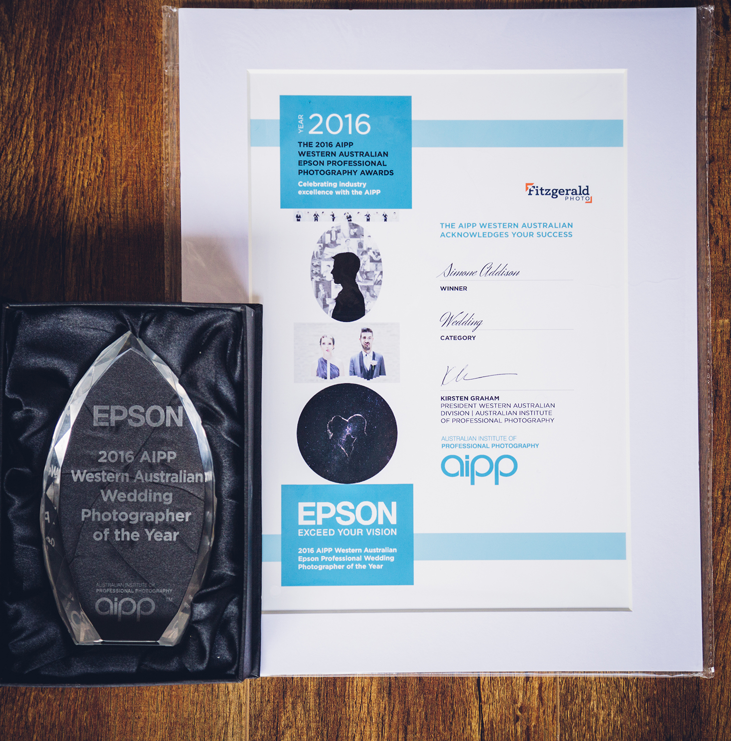 2016 AIPP WA EPSON PROFESSIONAL PHOTOGRAPHY AWARDS